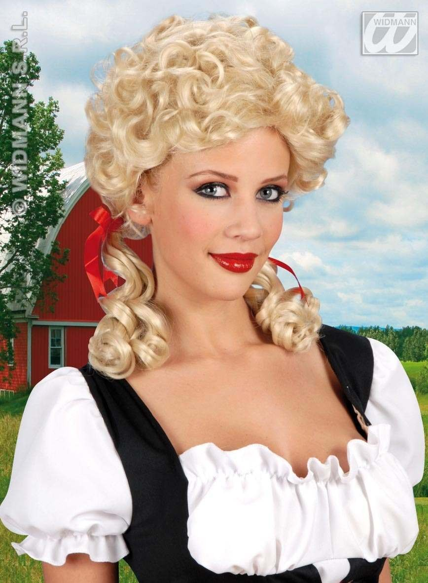 Farmers Daughter Wig - Fancy Dress
