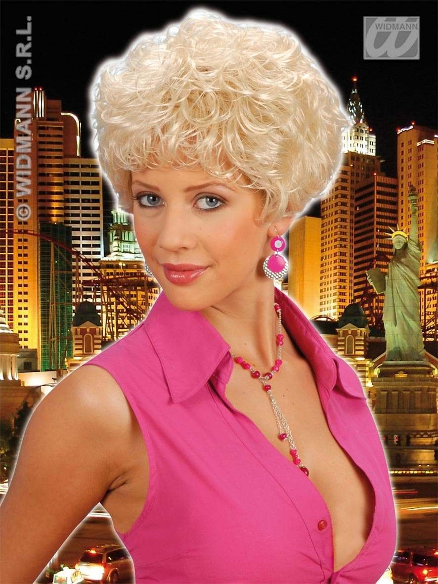 Whitney Wig Blonde - Fancy Dress Ladies