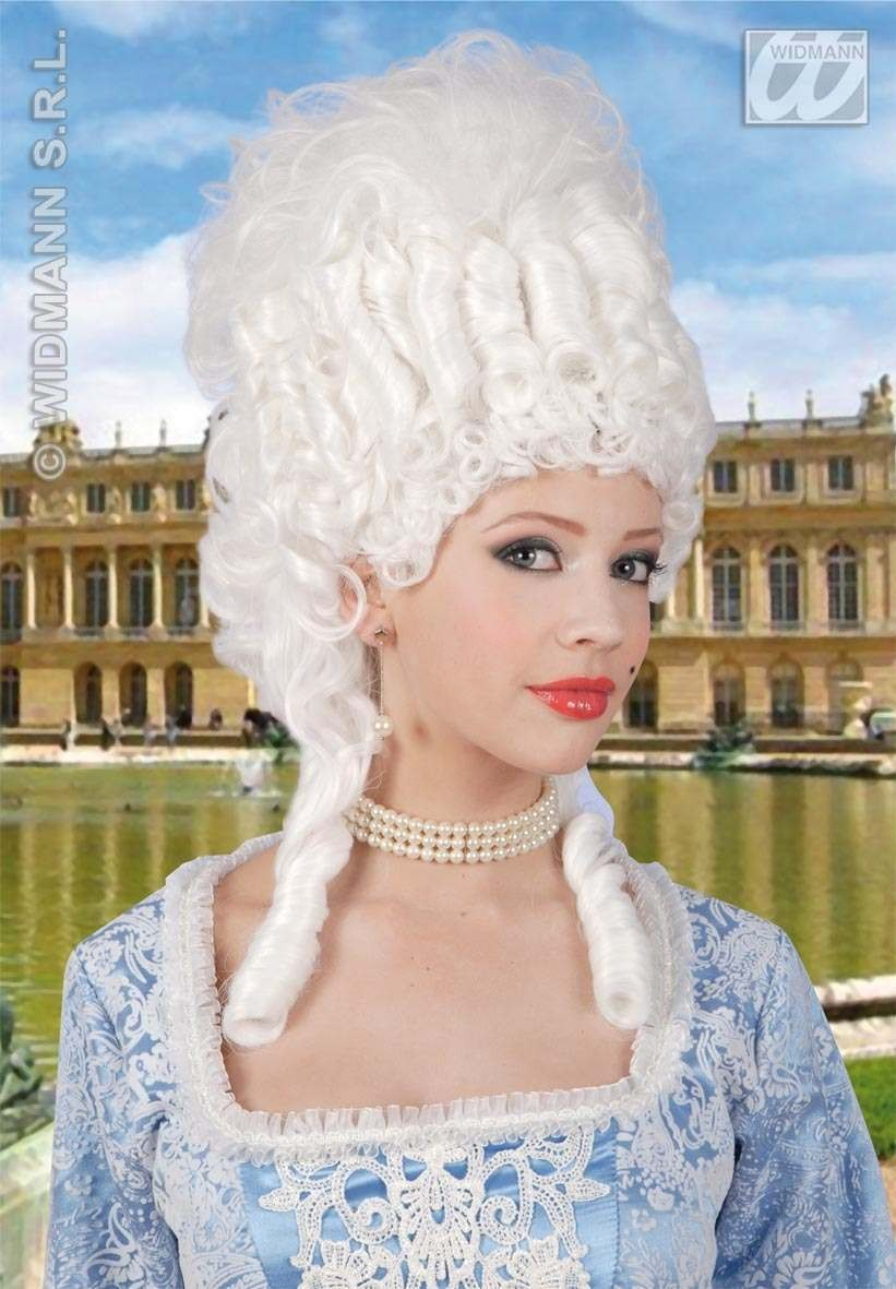 Marie Antoinette Wig White - Fancy Dress