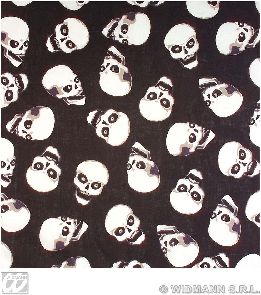 Bandana Pirate Skull 55Cm - Fancy Dress (Pirates)