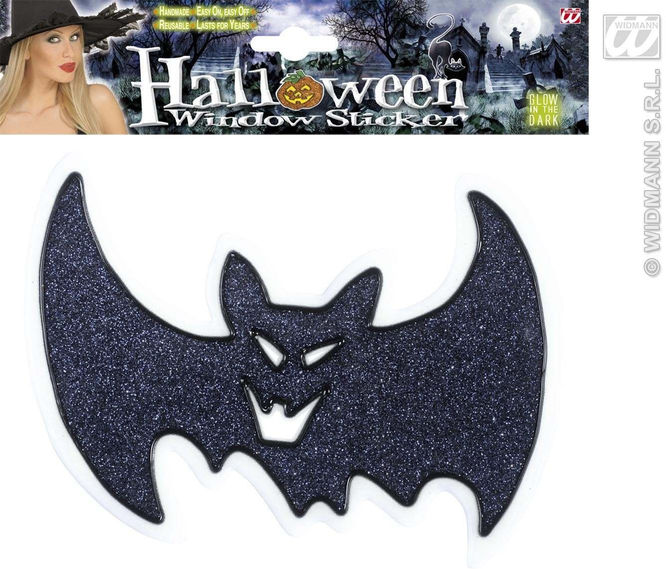Glow In The Dark Glitter Halloween Wi - Fancy Dress (Halloween)