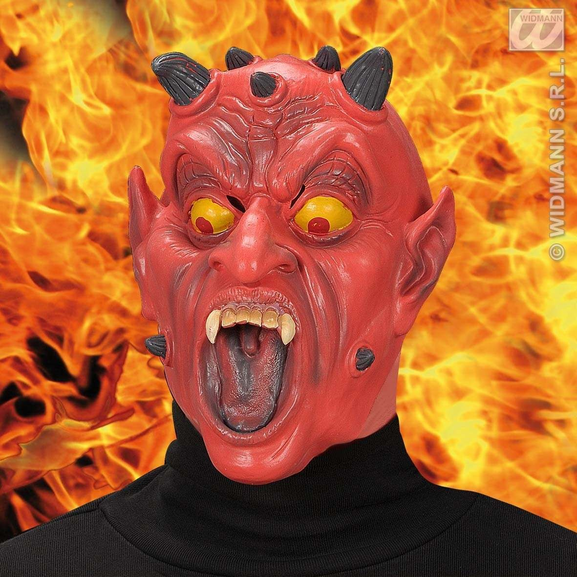 Half - Face Mask - Devil - Fancy Dress (Halloween)