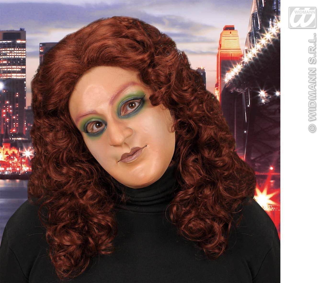 Half - Face Mask - Young Woman - Fancy Dress Ladies
