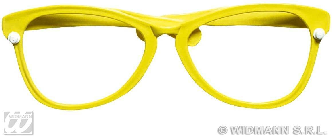 Maxi Glasses Red/Yellow - Fancy Dress