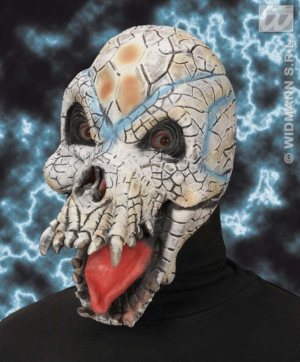 Reptile Skull Mask - Fancy Dress
