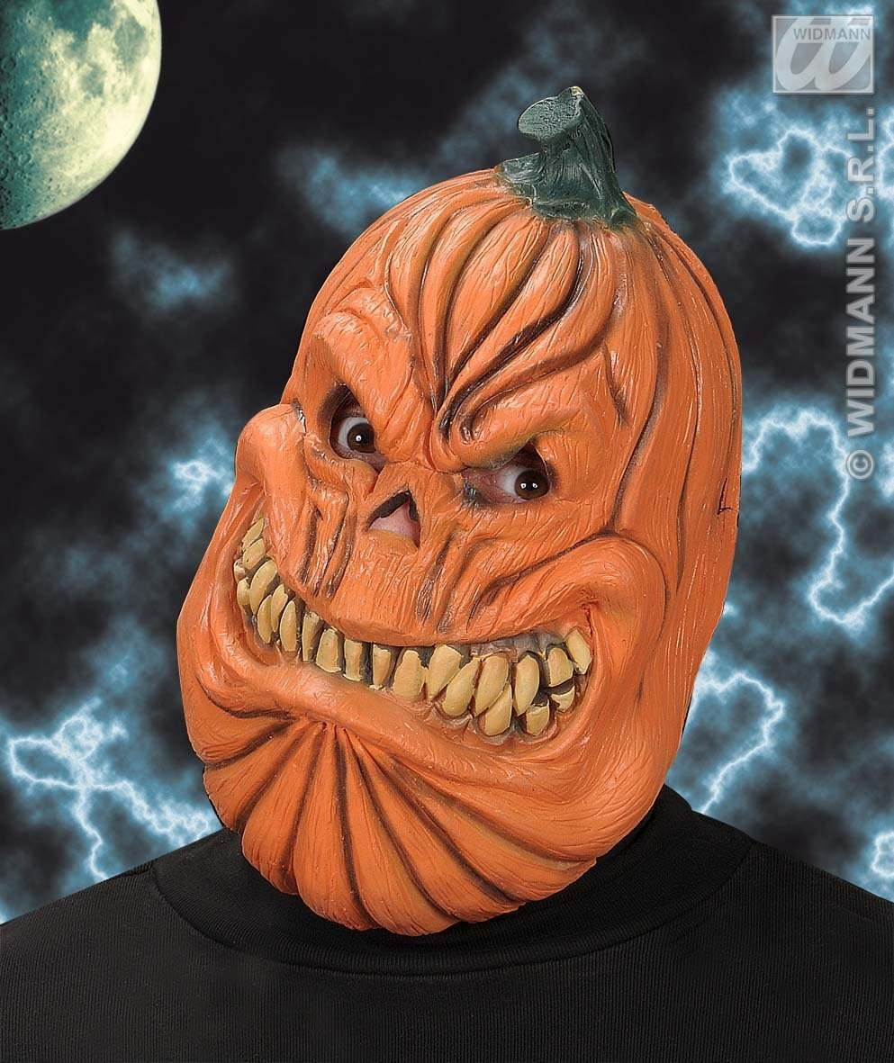 Pumpkin Mask - Fancy Dress (Halloween)