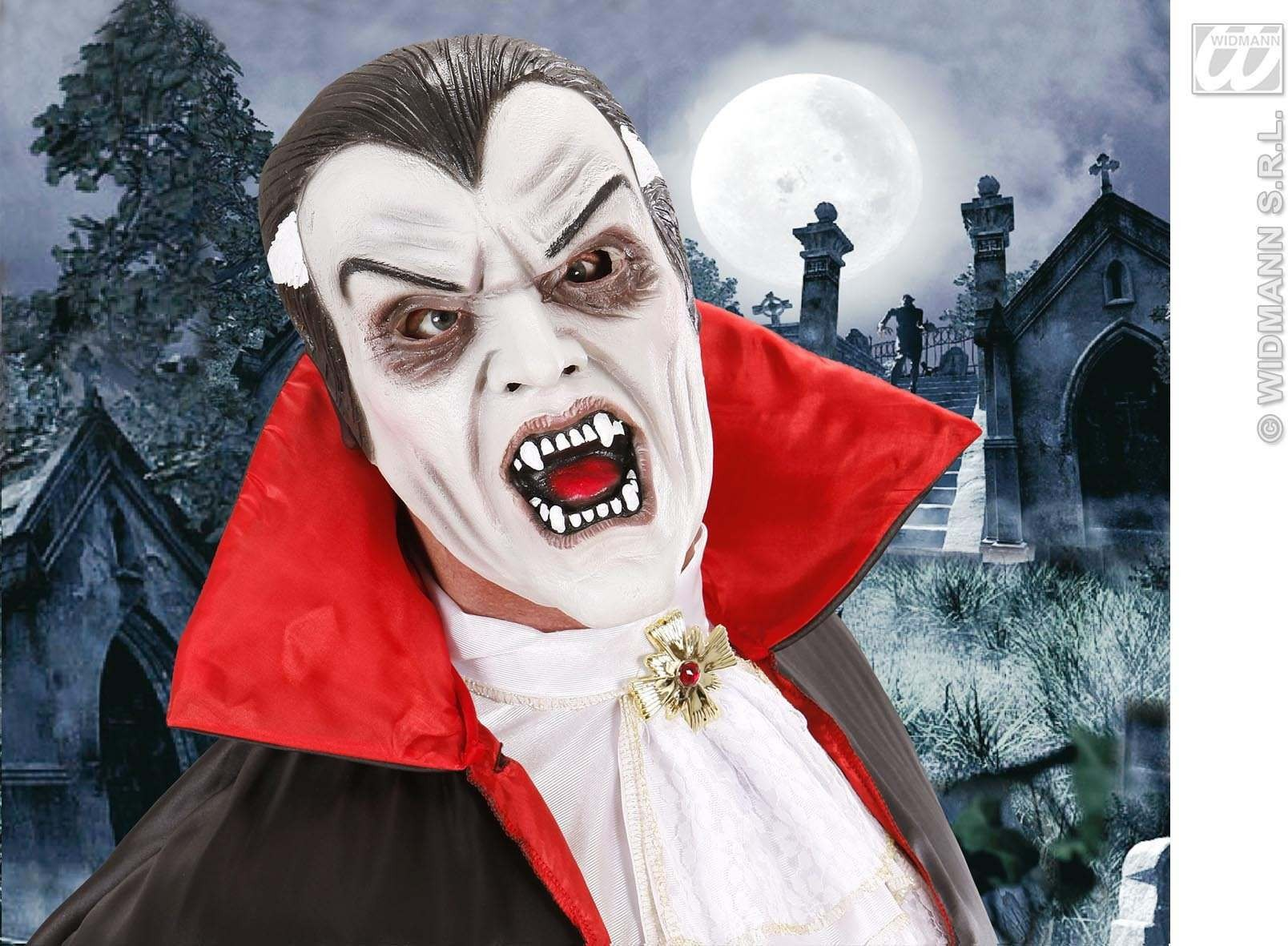 Foam Latex Masks - Vampire - Fancy Dress (Halloween)