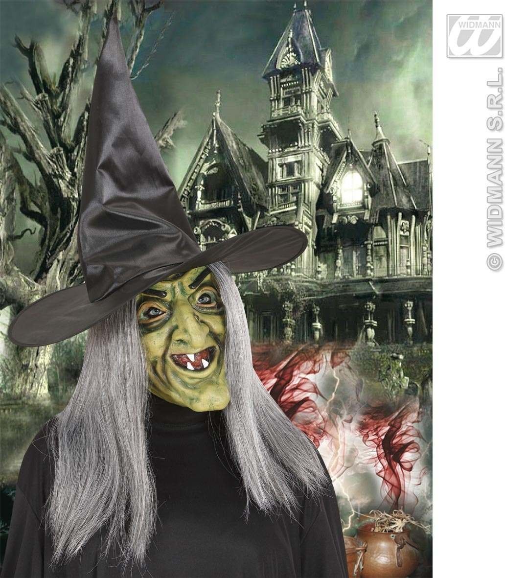 Foam Latex Masks - Witch - Fancy Dress (Halloween)
