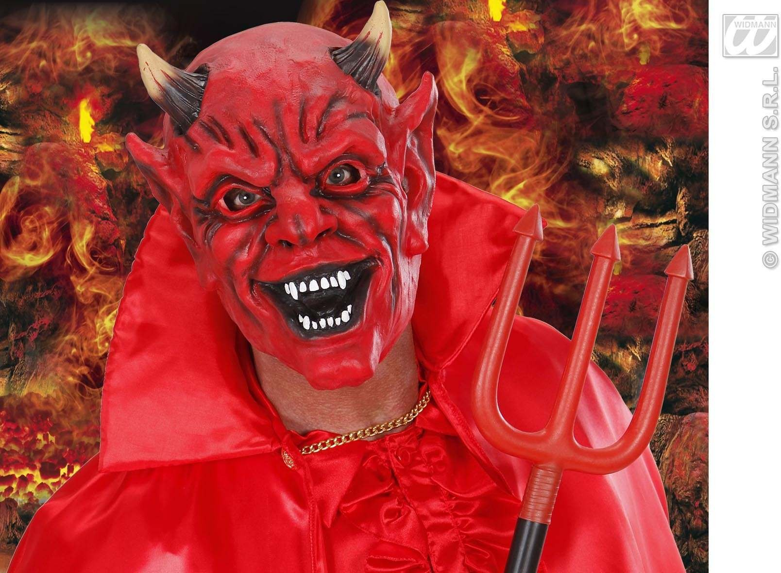 Foam Latex Masks - Devil - Fancy Dress (Halloween)