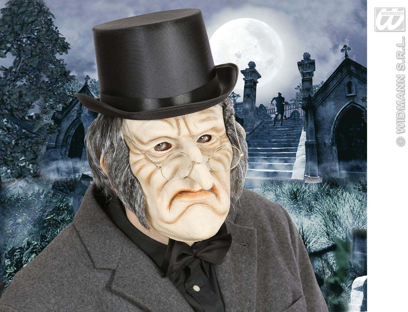 Foam Latex Masks - Creepy Old Man - Fancy Dress