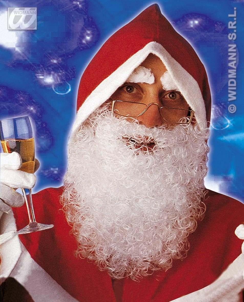 Santa Maxi Beard And Moustache Fancy Dress Costume (Christmas)