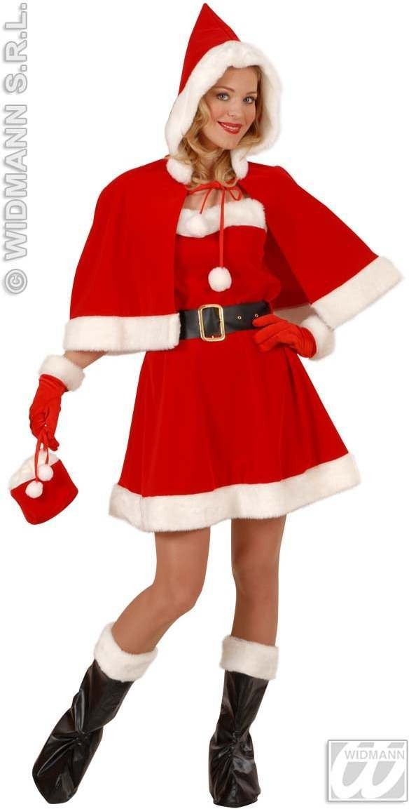 Miss Santa Dress Professional Quality Costume (Christmas)