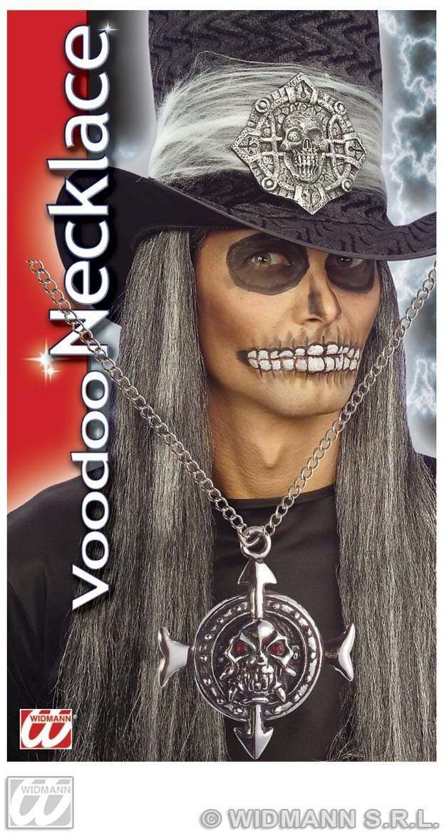 Voodoo Skull Necklace - Fancy Dress