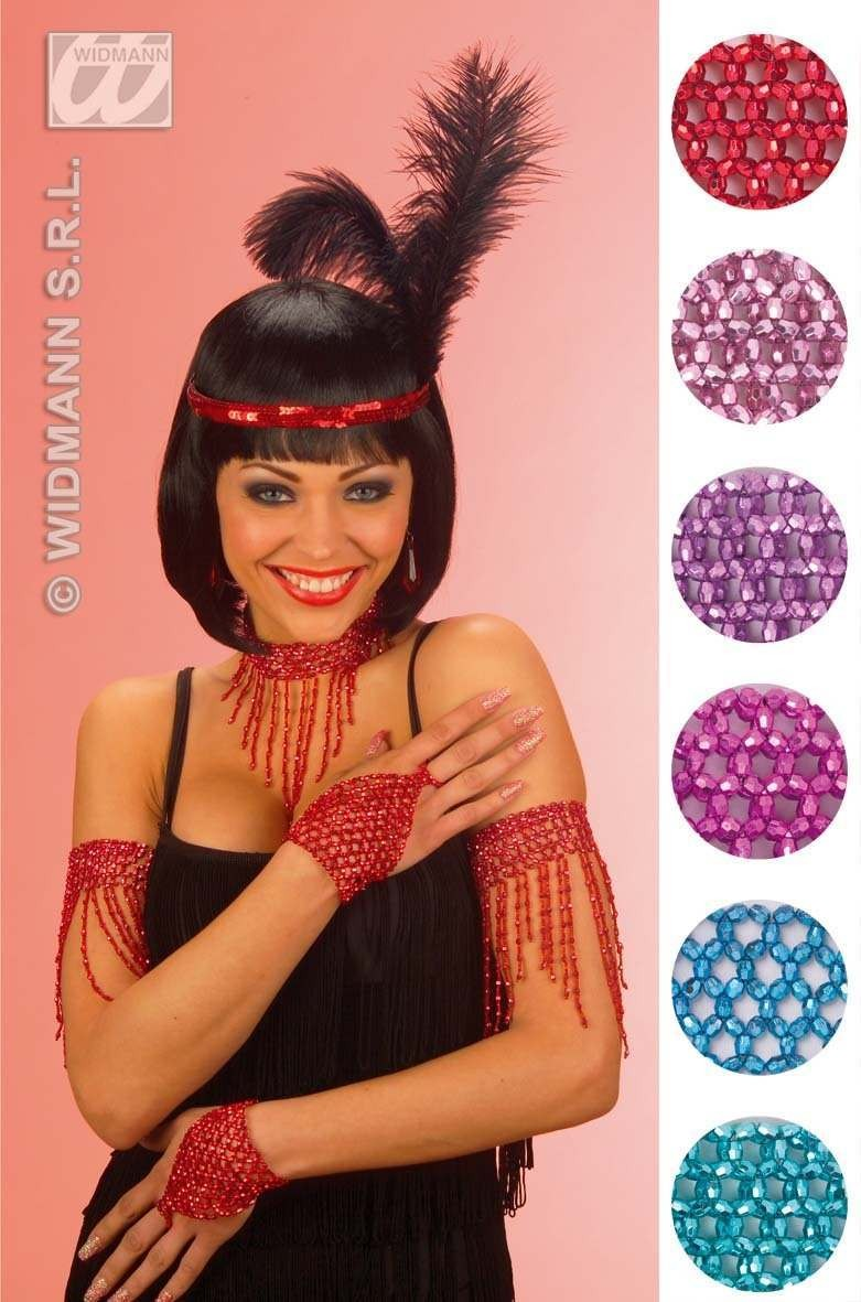 Beaded Armband - 6Cols - Fancy Dress