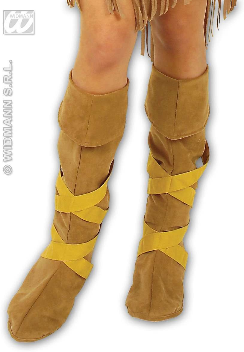 Indian Boot Covers - Fancy Dress (Cowboys/Indians)