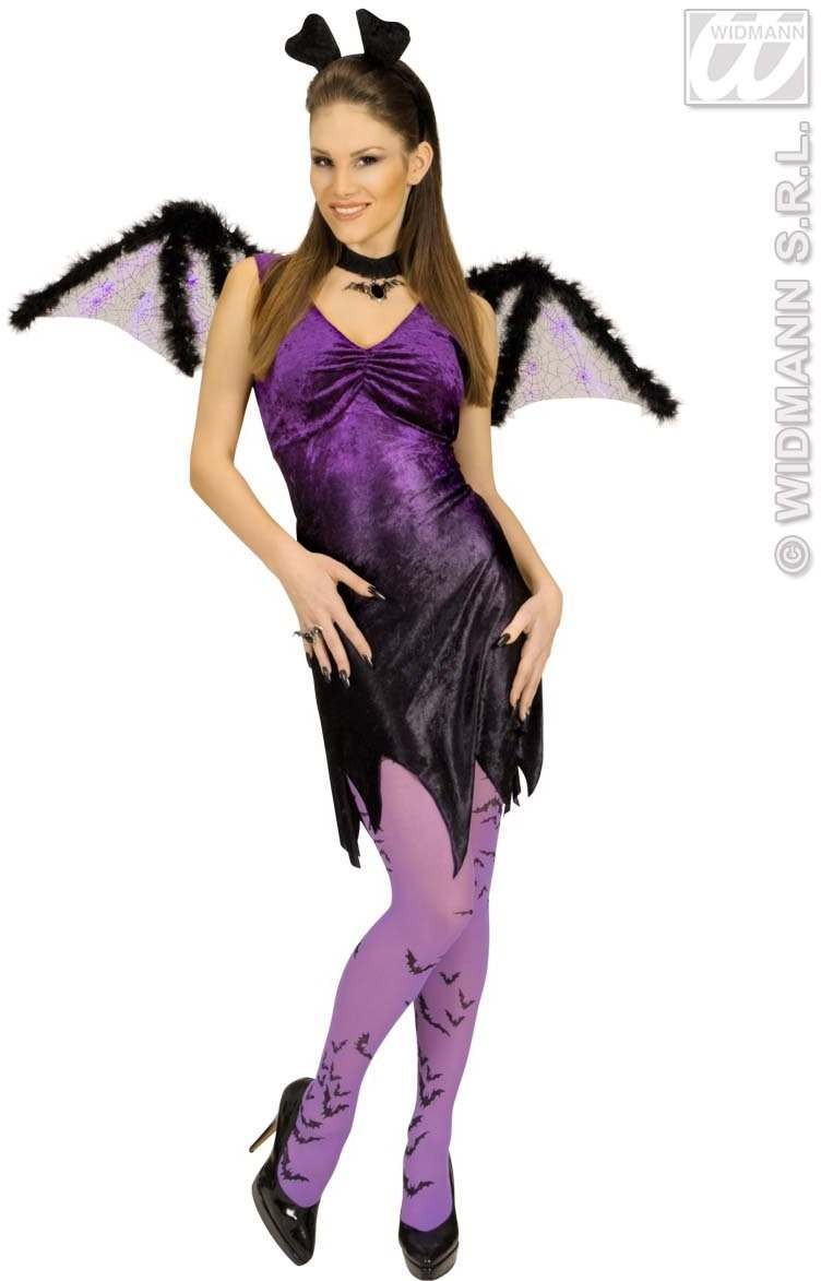 Bat Wing W/Marabou 102X35Cm - Fancy Dress