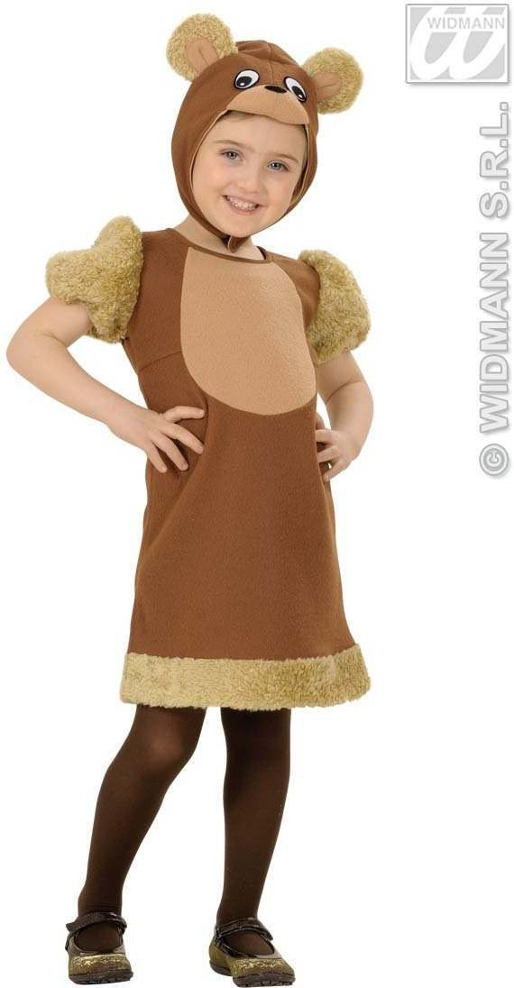 Honey Bear Toddler Costume Costume Kids Age 3-4 (Animals)