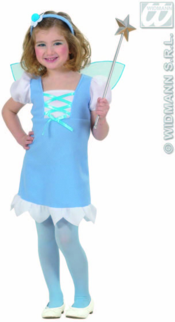 Blue Pixie Toddler Costume Costume Kids Age 3-4 (Fairy Tales)
