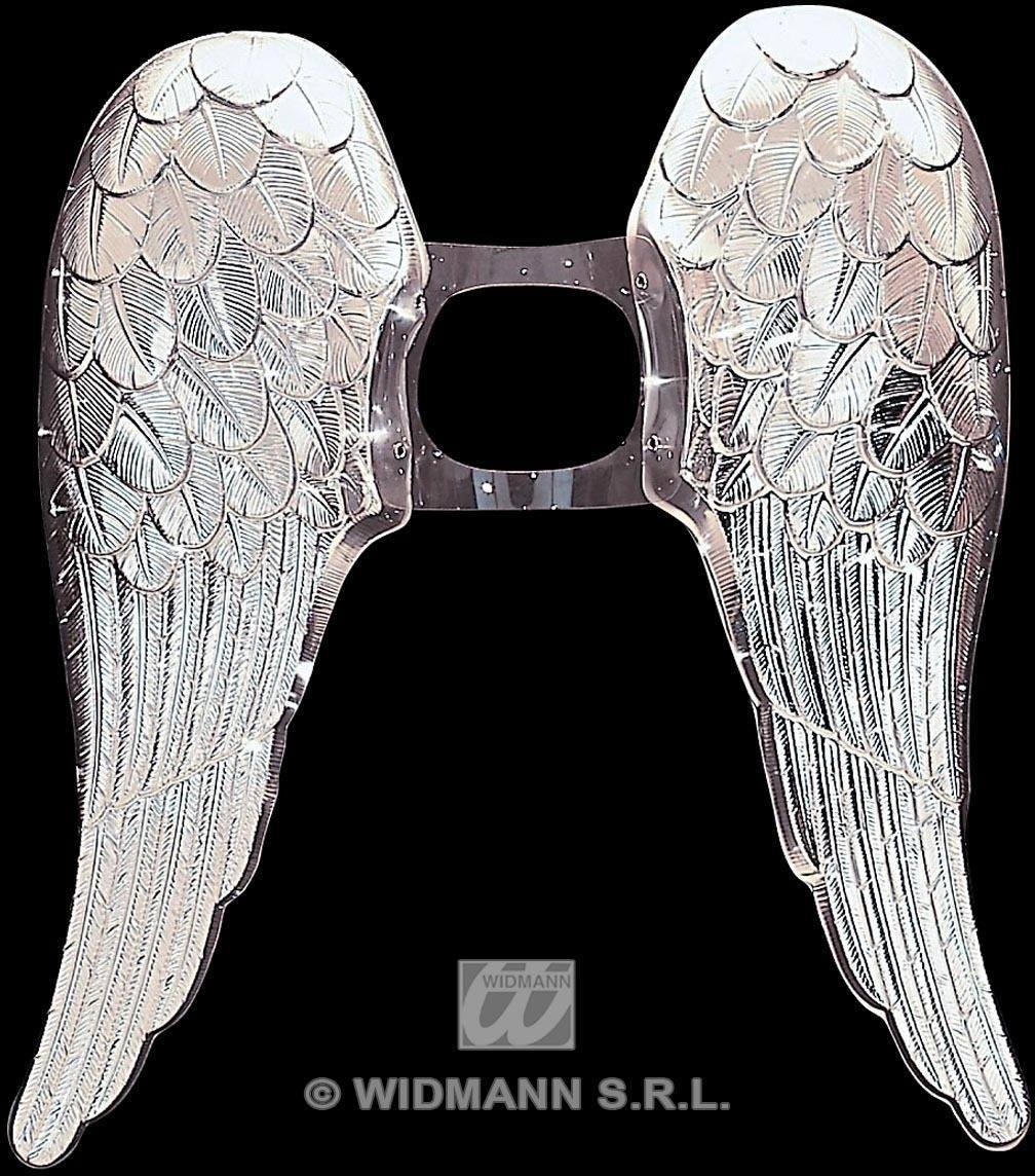 Angel Wings Metallic Gold/Silver - Fancy Dress (Christmas)