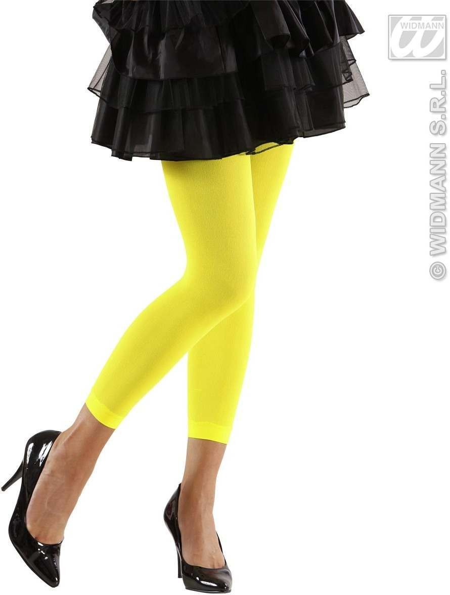 Leggings Neon 4 Cols Asst - 70 Den - Fancy Dress