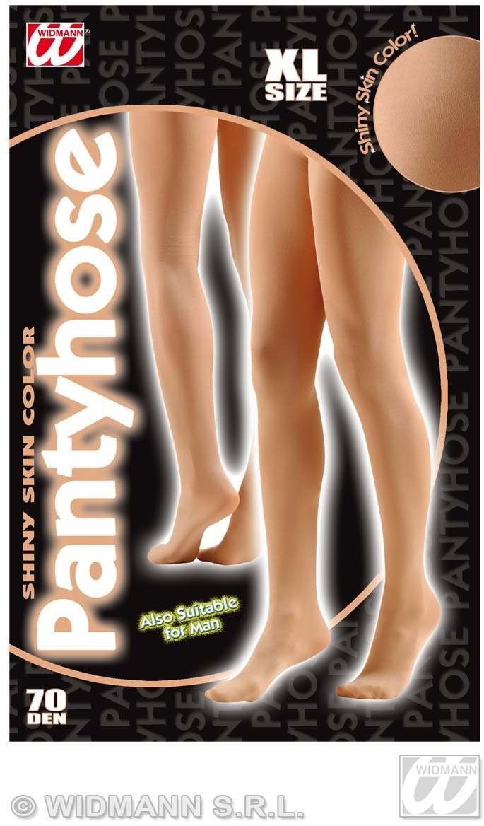 Xl Pantyhose Glitter 40 Den Shiny Skin Col, Fancy Dress