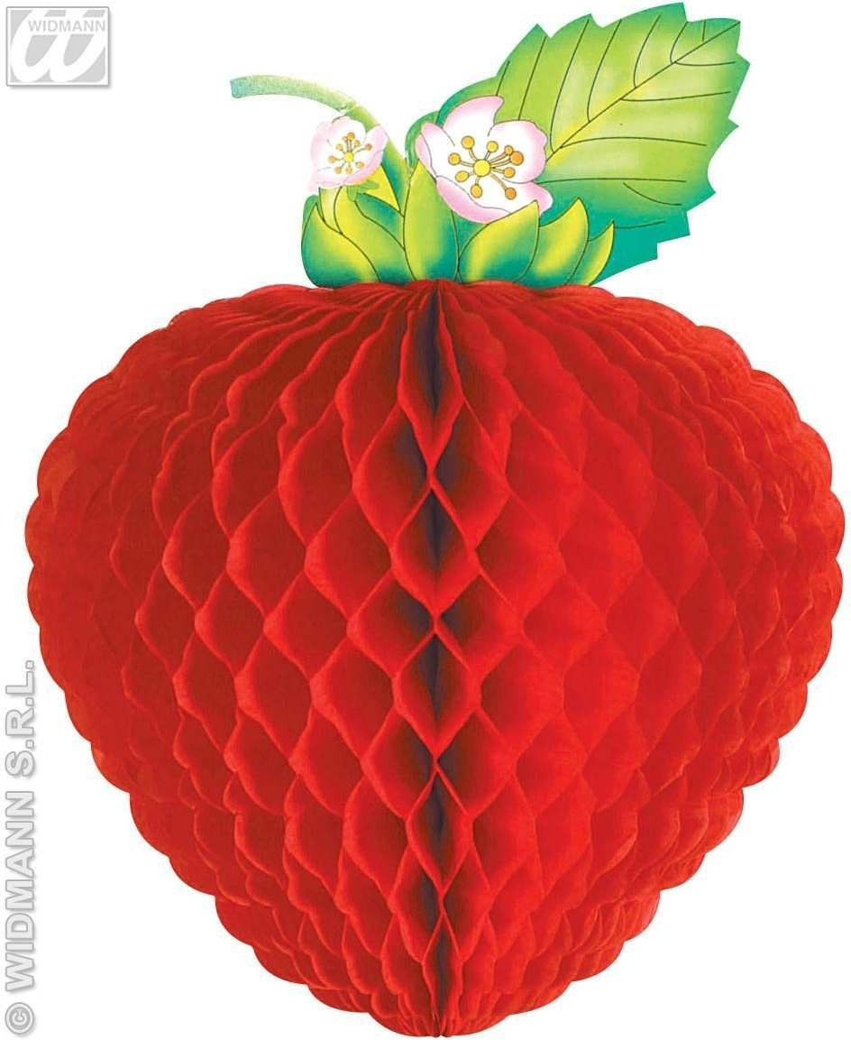 Jumbo Honeycomb Fruit 52Cm - Fancy Dress