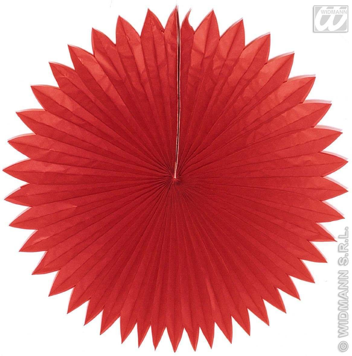 China Paper Fans Red 75Cm - Fancy Dress