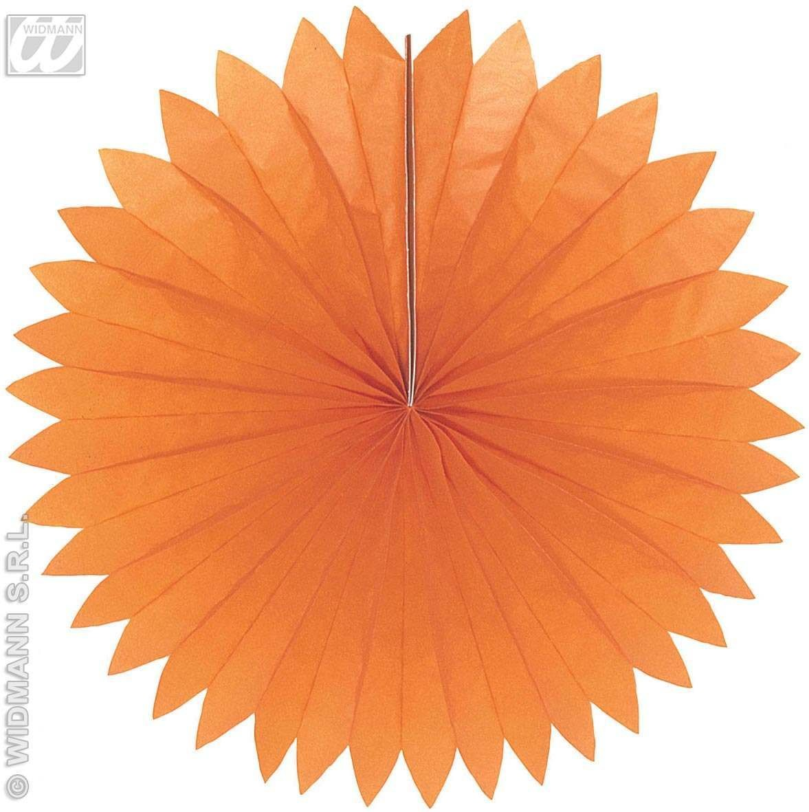 Unicolour Fans 75Cm 6Colours - Fancy Dress