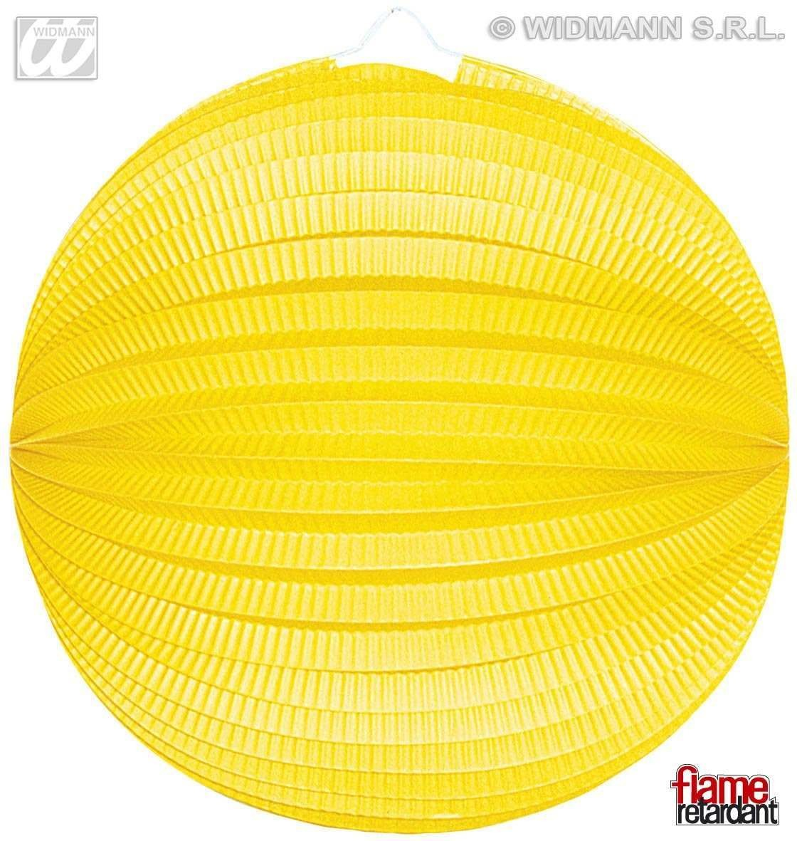 Unicolour Paper Balls 33Cm 6 Cols Flame Ret Fancy Dress