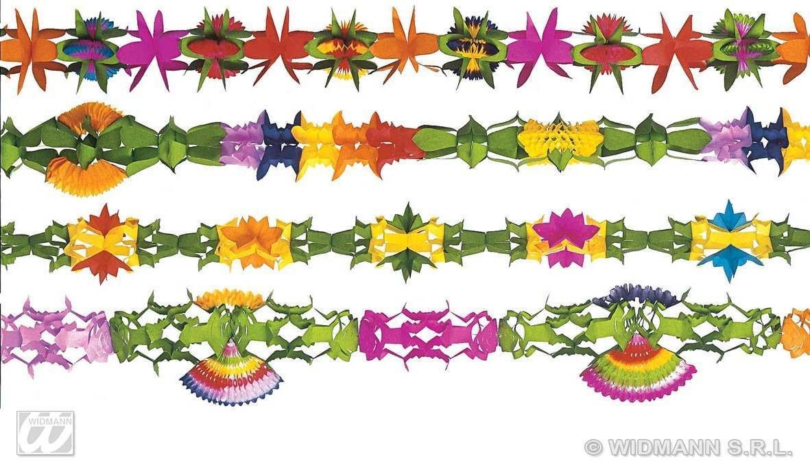 Deluxe Decor Paper Garlands 4Mt - Fancy Dress