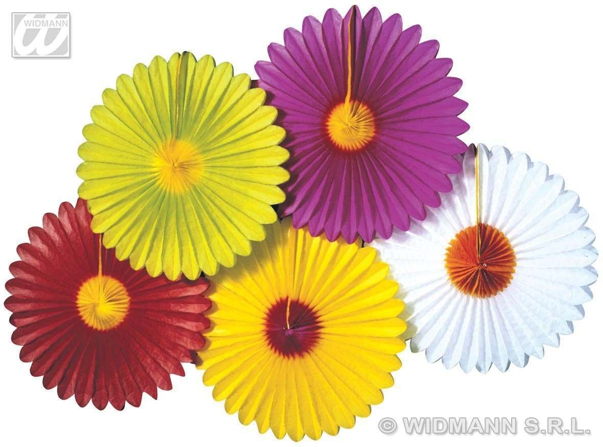 Daisy Paper Fan 50Cm - Fancy Dress