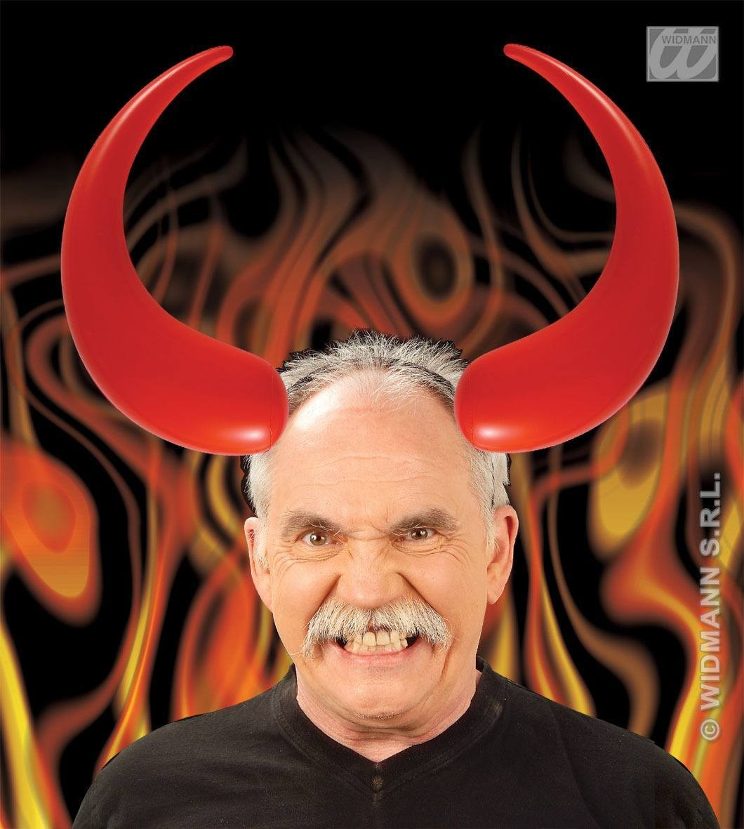 Maxi Inflatable Devil Horns - Fancy Dress (Halloween)