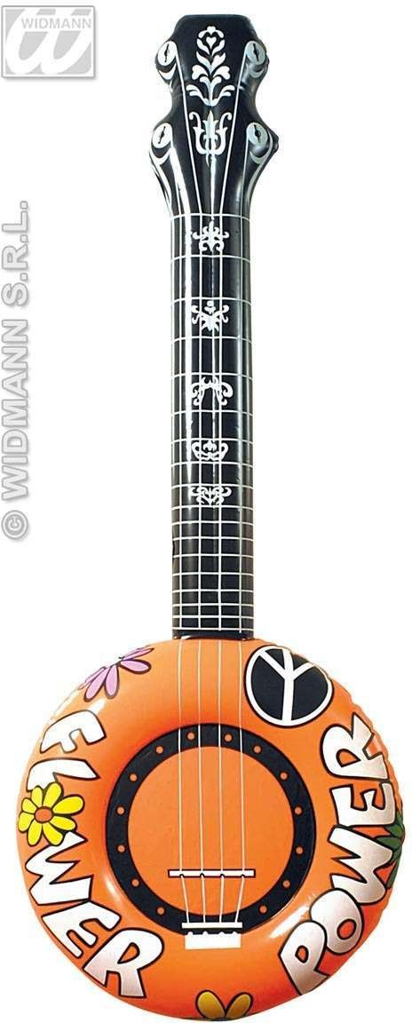 Inflatable Banjo 100Cm - Fancy Dress
