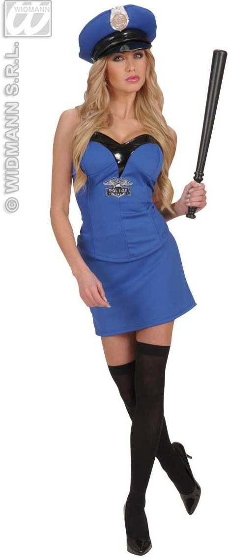 Police Club 53Cm - Fancy Dress (Cops/Robbers)