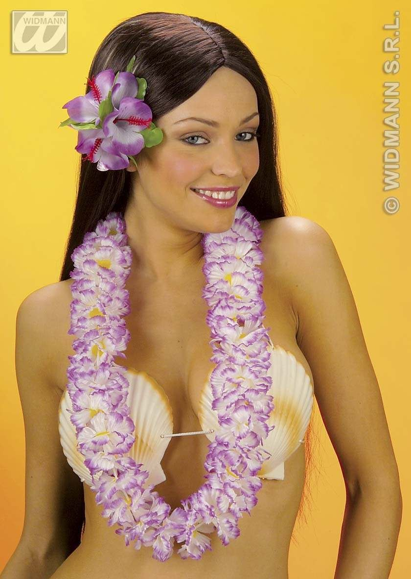 Deluxe Fabric Hawaiian Leis - Fancy Dress (Hawaiian)