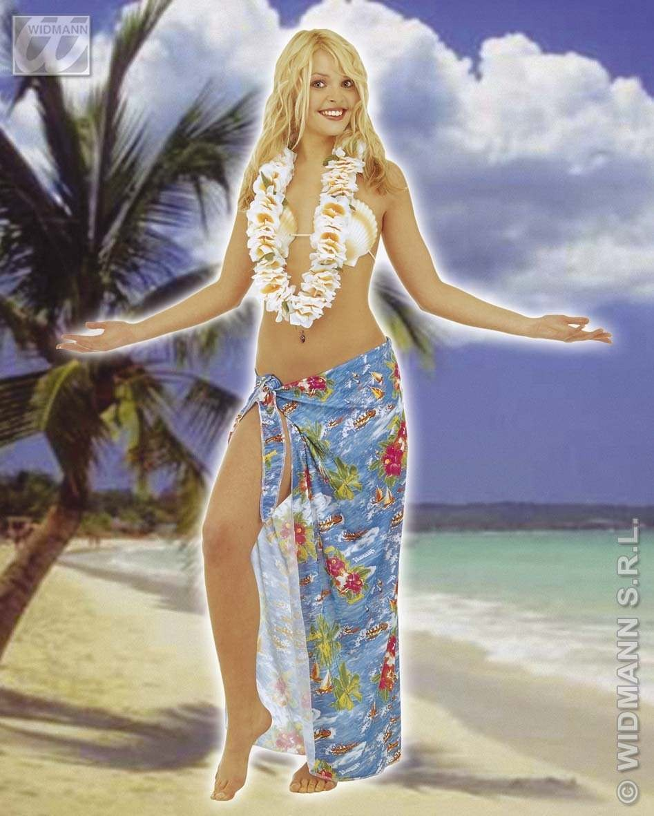 Waikiki Leis Deluxe Fabric - Fancy Dress