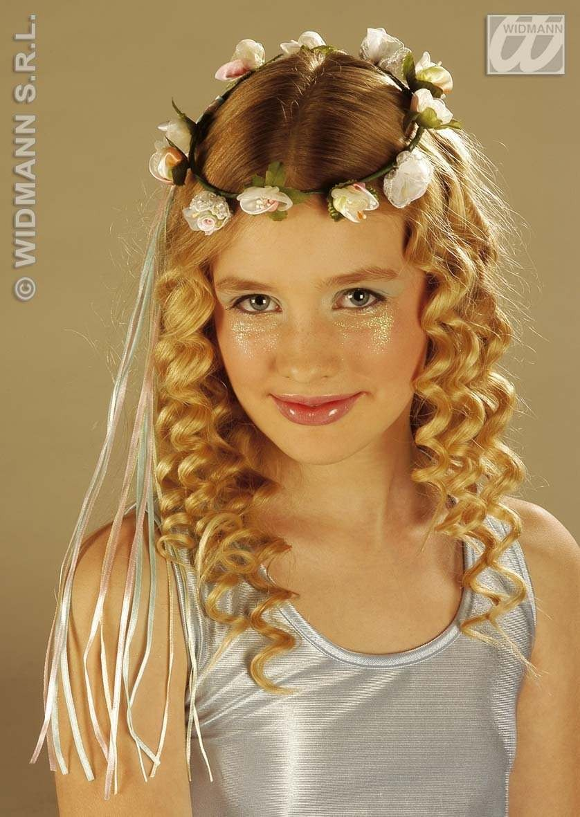 Deluxe Flower Diadems Child Fancy Dress