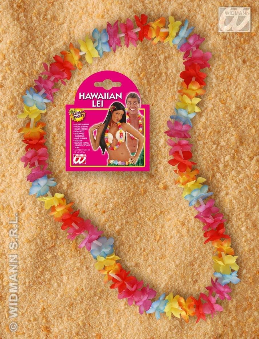 Multicolour Hawaiian Leis - Fancy Dress (Hawaiian)