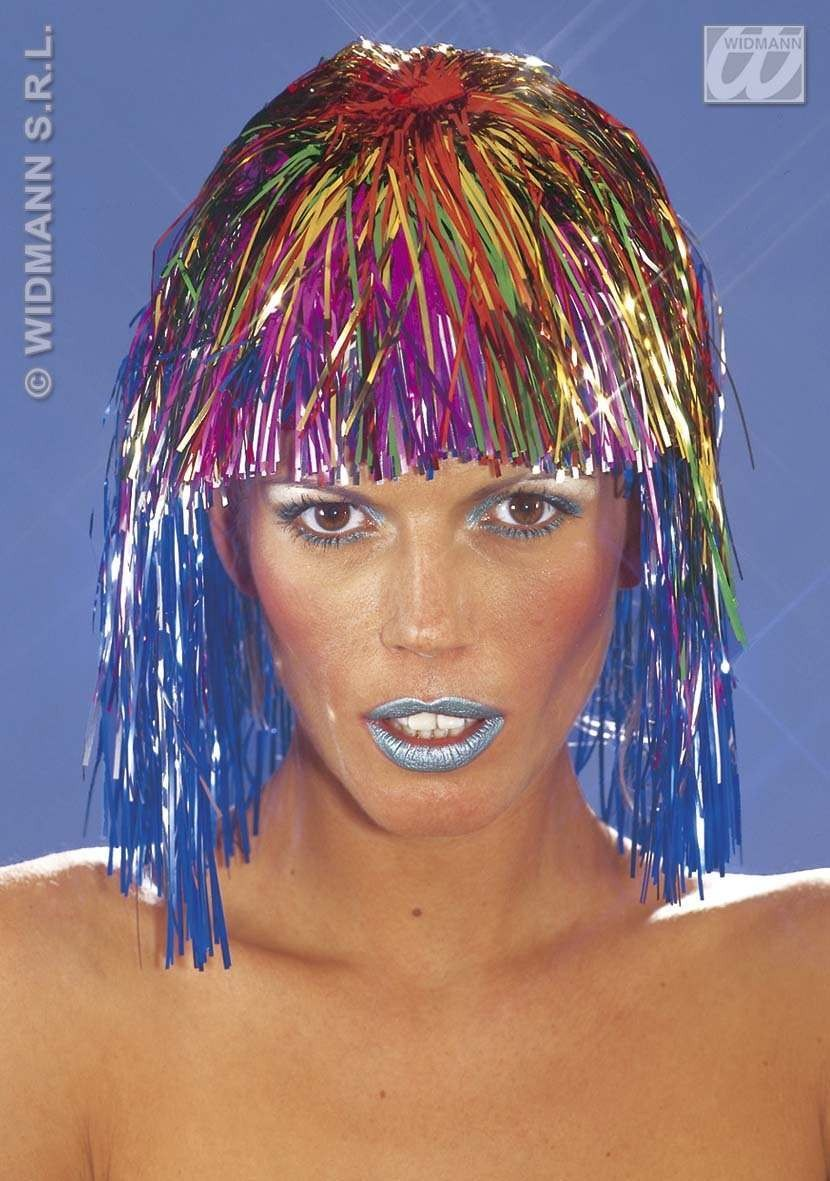 Disco Wig Multicolour - Fancy Dress (1970S)