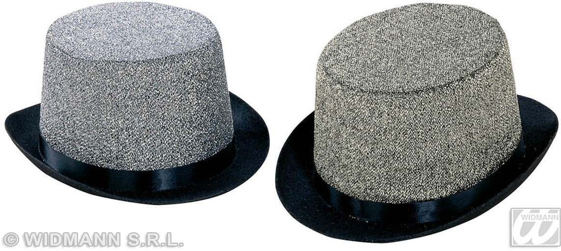 Top Hat Felt Elegance 6 Col Asstd - Fancy Dress