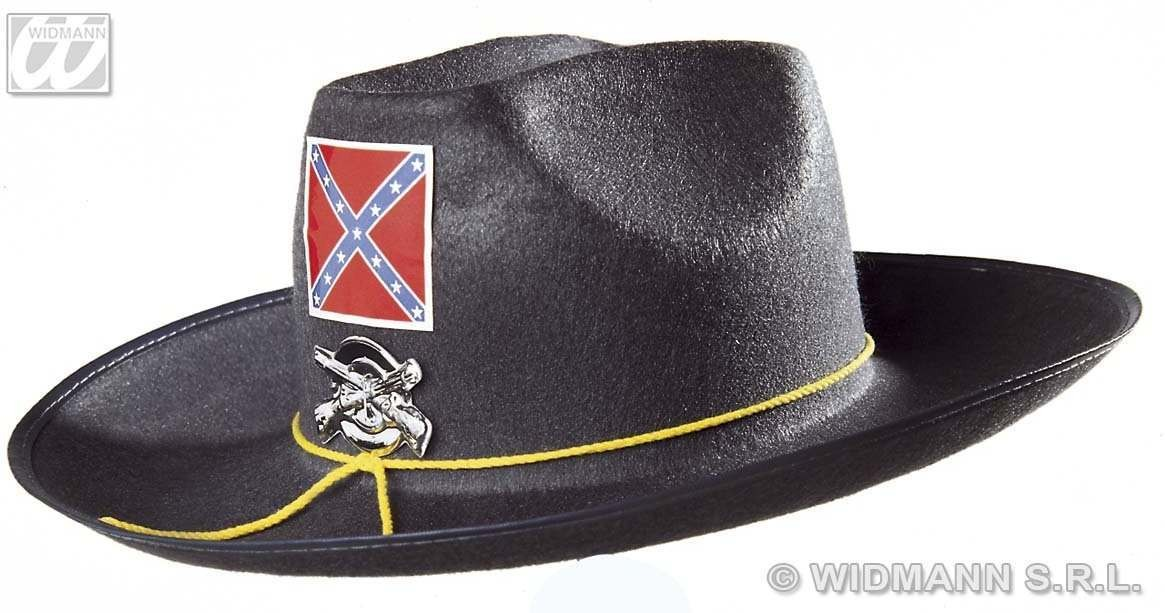 Felt Confed Hat With Badge - Fancy Dress