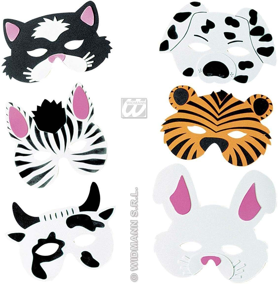Baby Animal Mask 6 Styles - Fancy Dress (Animals)