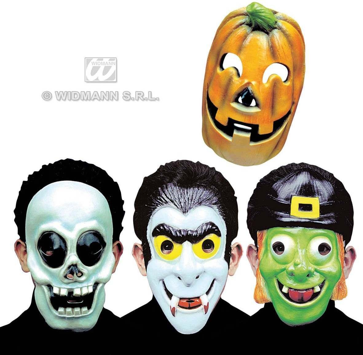 Child Half - Face Halloween Mask 4 Styles - Fancy Dress (Halloween)