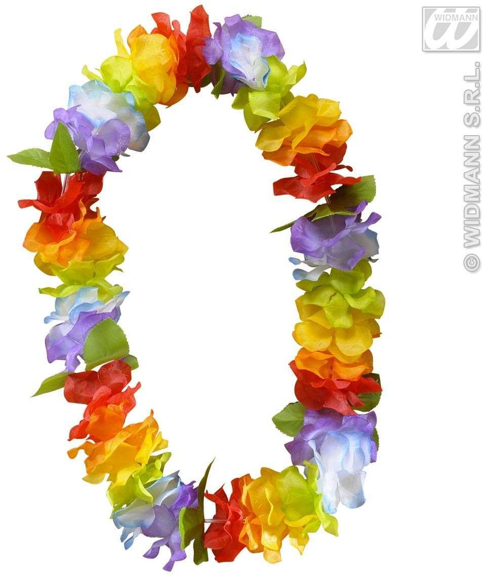 Deluxe Multicolor Hawaiian Leis - Fancy Dress (Hawaiian)