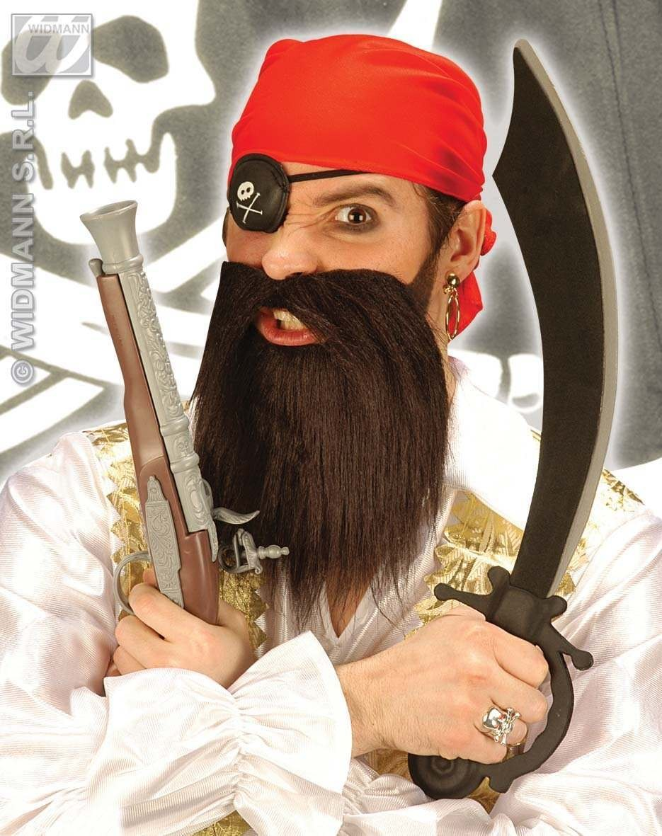 Pirate Dress Up Set With Headscarf - Fancy Dress (Pirates)