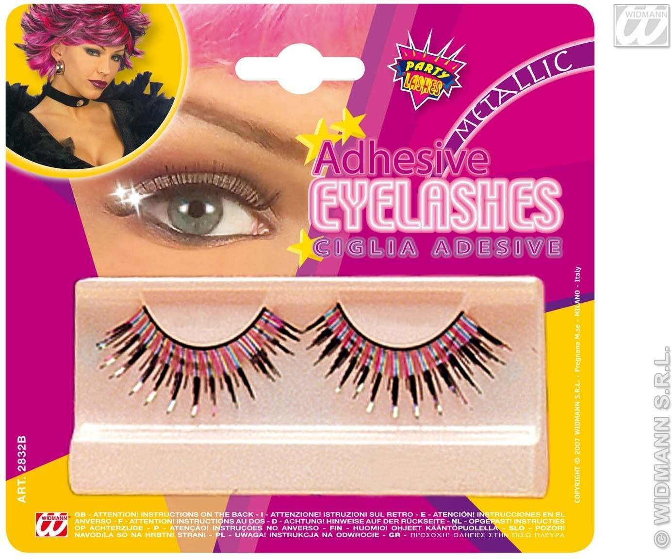 Eyelashes Metallic Long - Fancy Dress