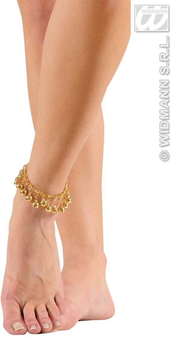 Anklets With Gold Bells - Fancy Dress