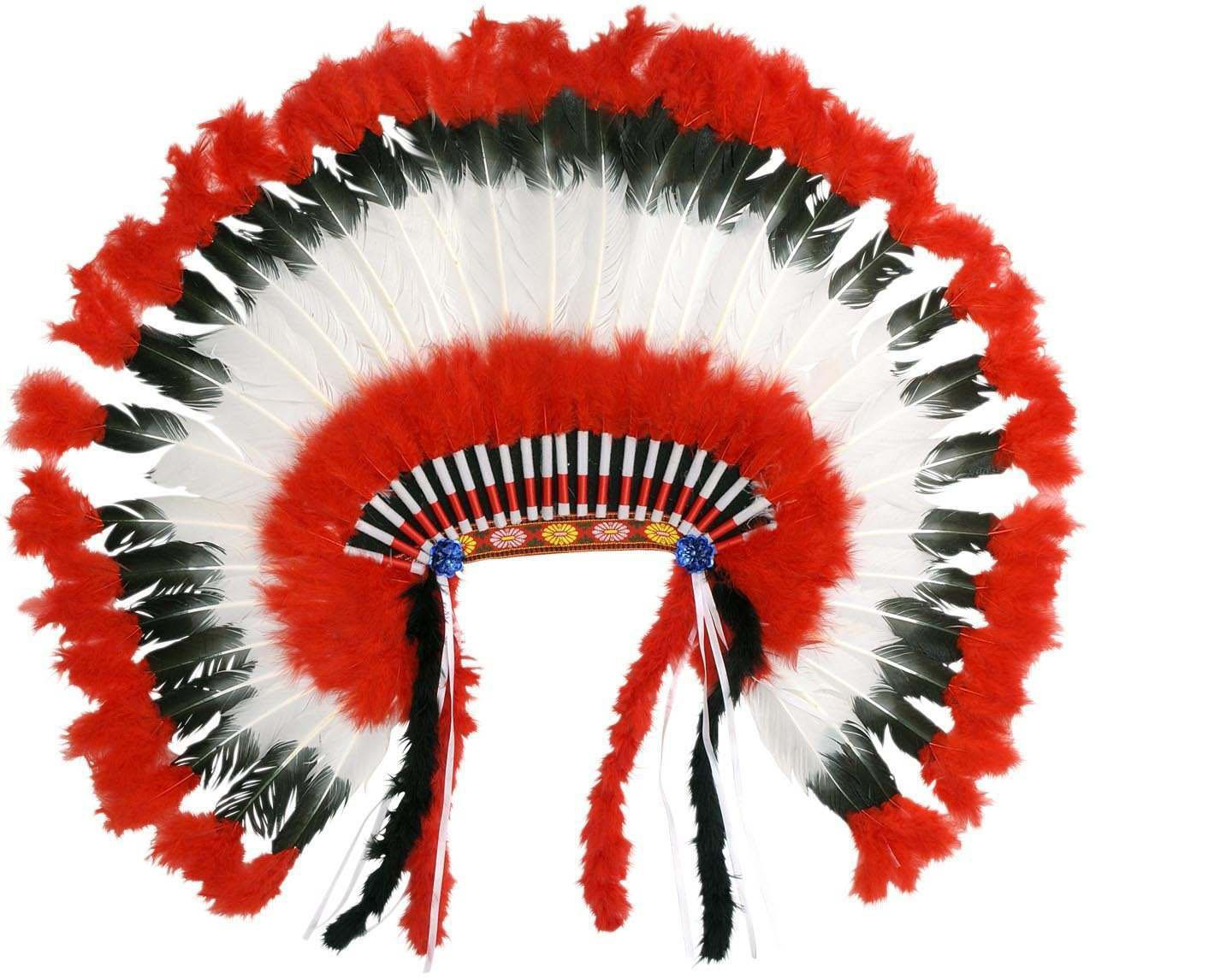 American Native American Headdress - Fancy Dress (Cowboys/Native Americans)