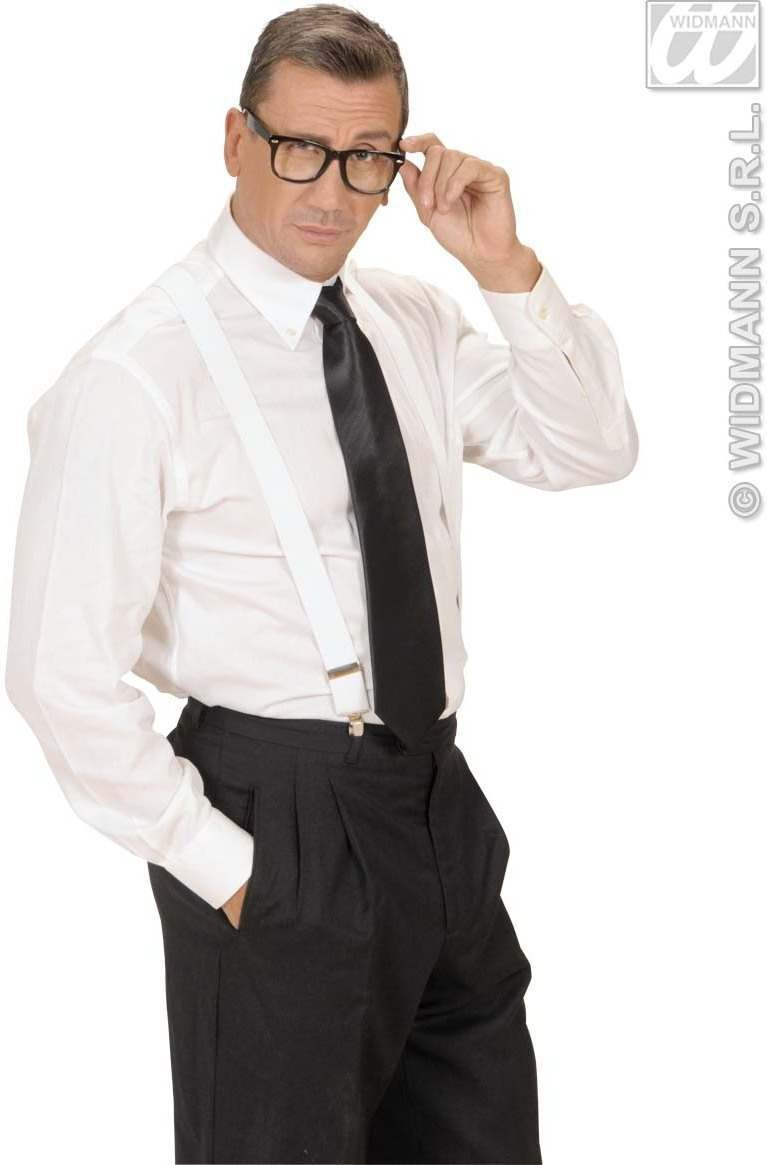 Satin Black Neckties - Fancy Dress