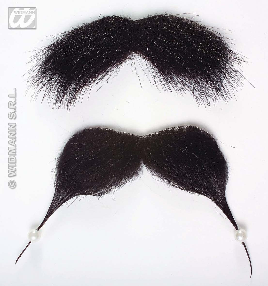 Pirate Moustache And Beaded Goatee - Fancy Dress (Pirates)